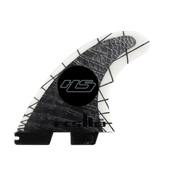 FCS II HS PC Carbon Tri Fin Set - Large