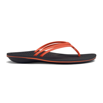 Olukai Unahi Sandals - Coral / Black