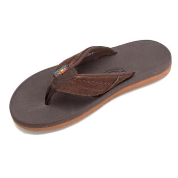 Rainbow East Cape Sandal - Dark Brown