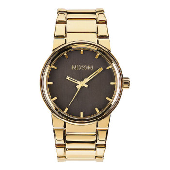 Nixon Cannon Watch - All Gold / Black