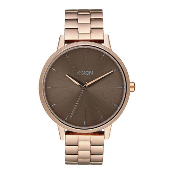Nixon Kensington Watch - Rose Gold / Taupe