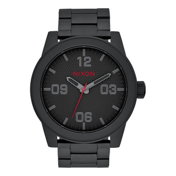 Nixon Corporal SS Watch - All Black / Stamped