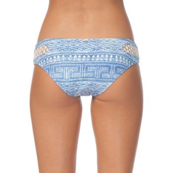 Rip Curl High Tide Luxe Hipster Bikini Bottom - Light Blue