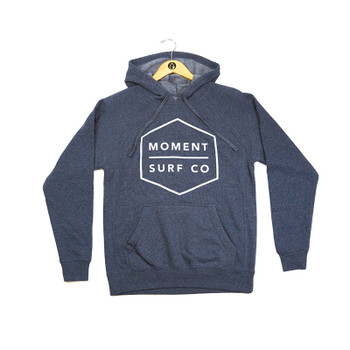 Moment Boxed Logo Pullover Hoodie