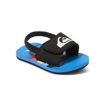 Quiksilver Baby Molokai Layback Sandals - Blue / Black / Red