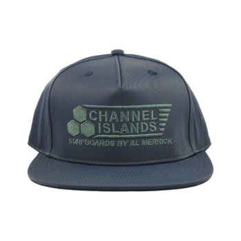Channel Islands Flag Snapback Hat - Indigo