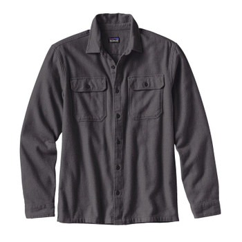 Patagonia Men's L/S Fjord Flannel Shirt - Forge Grey