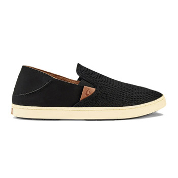 Olukai Pehuea Slip On Shoes - Black / Black