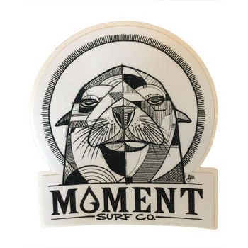 Moment Sea Lion Sticker