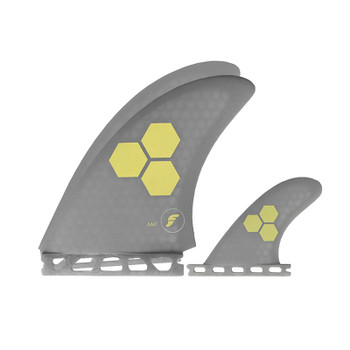 Futures Fins AMT Twin - Grey/ Beige