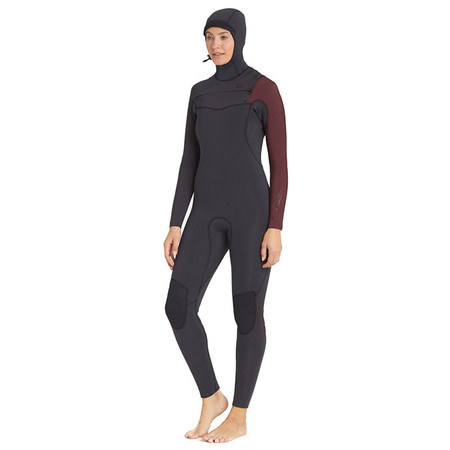 Billabong Women's Furnace Carbon Comp 5/4 Hooded Wetsuit