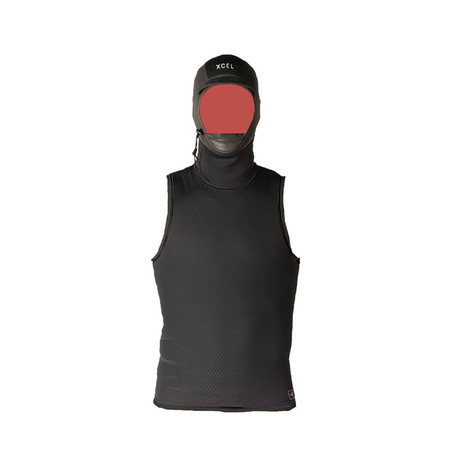 Xcel Celliant Jacquard Vest With 2mm Hood