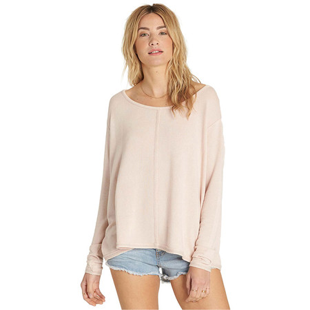 Billabong From Here Top - Pearl Pink