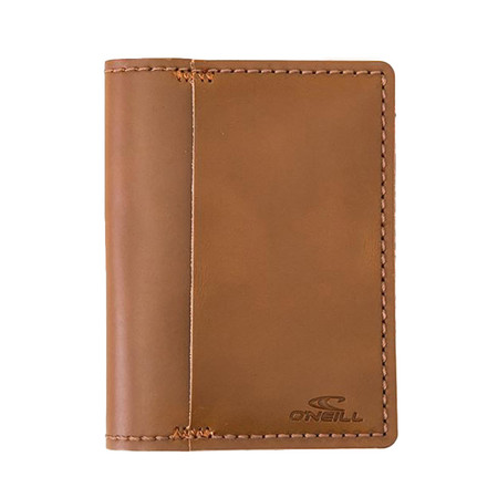 O'Neill Thieves Leather Wallet - Brown