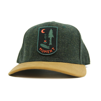 Moment Campsite Hat - Forest Green