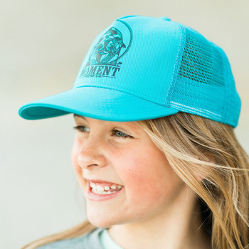 Moment Sea Lion Kids Hat - Tahiti Blue - 3