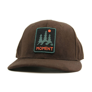 Moment Trees And Waves Hat - Brown Suede