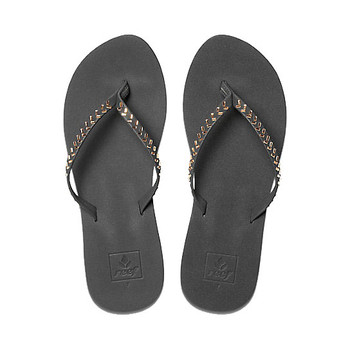 Reef Bliss Embellish Sandal - Black/Bronze