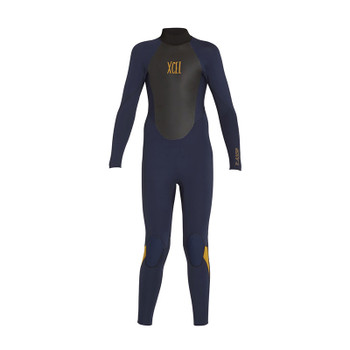 Xcel Youth Axis Back Zip 5/4 Wetsuit - Ink Blue