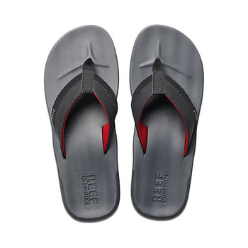Reef Contoured Cushion Sandal - Grey / Red