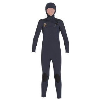 Xcel Youth Comp X Hooded 4.5/3.5 Wetsuit - Slate Black