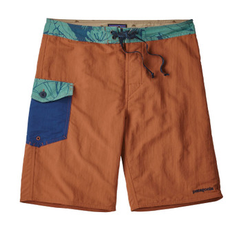 Patagonia Men's Patch Pocket Wavefarer Boardshorts - Canyon Brown