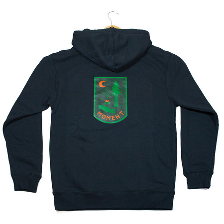 Moment Campsite Pullover Hoodie - Midnight Navy