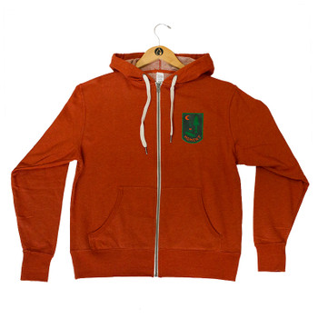 Moment Campsite Zip Hoodie - Burnt Orange
