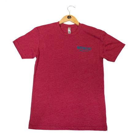 Moment Sunset Waves Tee - Cardinal