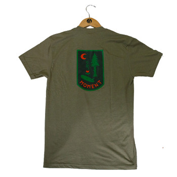 Moment Campsite Tee - Olive