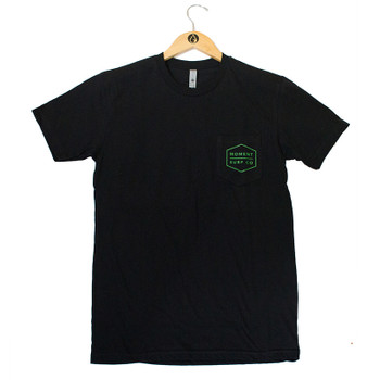 Moment Boxed Logo Pocket Tee - Black / Camo
