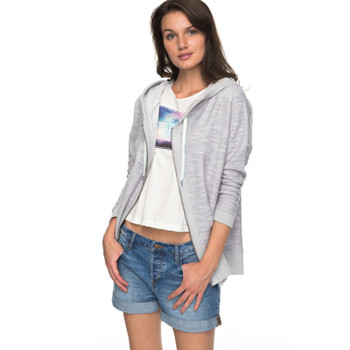 Roxy Harmony Song Zip-Up Hoodie - Heritage Heather