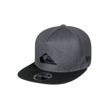 Quiksilver Stuckles Snap Snapback Hat - Charcoal Heather
