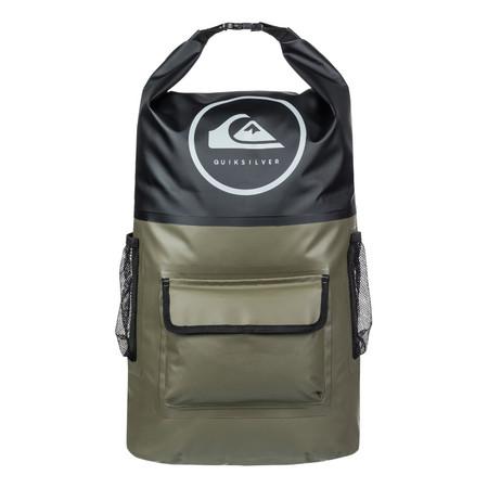 Quiksilver Sea Stash Roll Top Surf Backpack - Fatigue