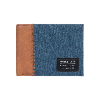 Quiksilver Freshness Plus II Bi-Fold Wallet - Blue Nights Heather