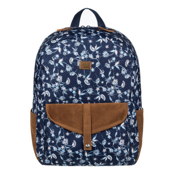 Roxy Carribean Medium Backpack - Dress Blues Beyond Way Small
