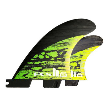 FCS II MB PC Carbon Medium Tri / Quad Fin Set