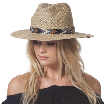 Rip Curl Black Sands Panama Hat - Natural