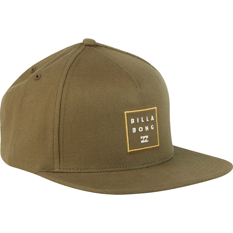 74d67976004 ... top quality billabong stacked snapback hat olive 8b461 15751