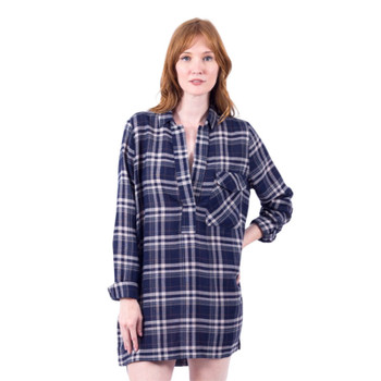 Lira Victory Plaid Dress - Navy