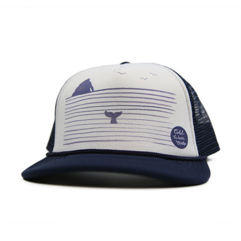 Cold Water Rock N' Whale Trucker Hat