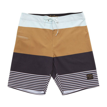 Dark Seas Blackwall II Boardshorts - Navy / Tobacco