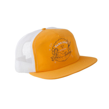 Dark Seas Shanghai'd Trucker Hat - Gold