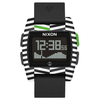 Nixon Base Tide Watch - Black / Captain Fin
