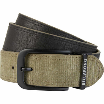 Billabong Split Reversible Belt - Military
