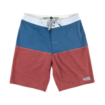 Salty Crew Halyard Boardshort - Red