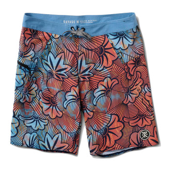 Roark Savage Mangroves Boardshort - Blue