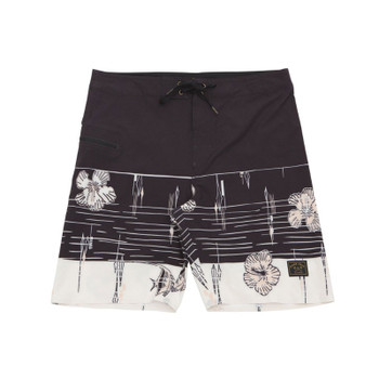 Dark Seas Blackwall II Boardshorts - Caviar