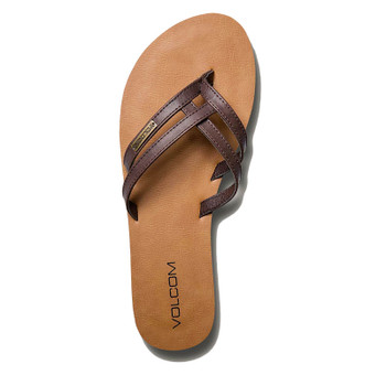 Volcom Crosstown Sandal - Brown