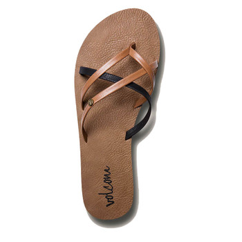 Volcom New School Sandal - Brown Combo